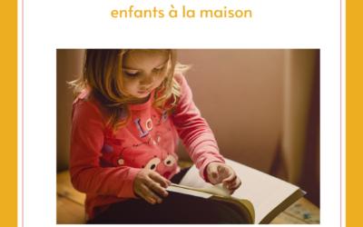 TÉLÉTRAVAIL, GESTION D'ENTREPRISE ET ENFANTS À LA MAISON